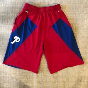 Nike Dri-Fit Phillies Athletic Shorts